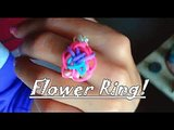 Rainbow Room Flower Ring