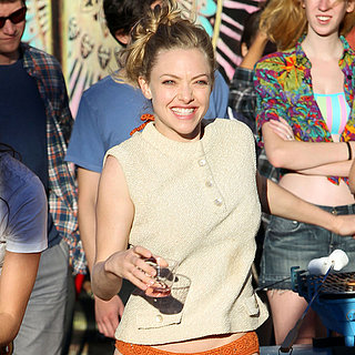 Stars Filming While We're Young | Pictures