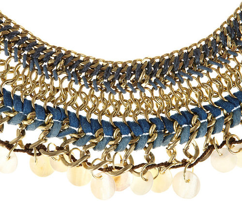 Statement Woven Tribal Necklace