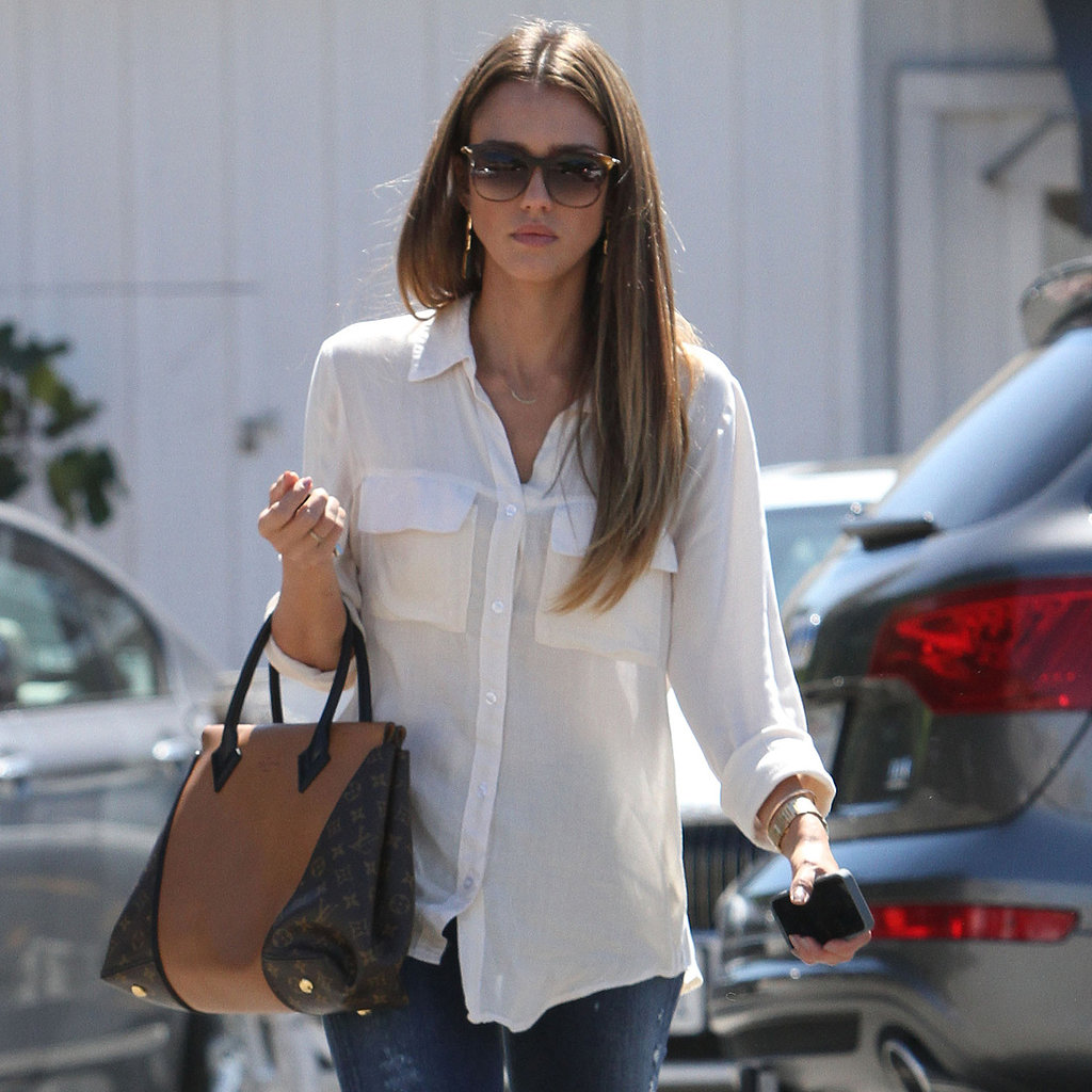 50 Unparalleled Street Style Looks Courtesy of Jessica Alba