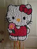 Hello Kitty by Friendly Frogs Piñatas ($45)