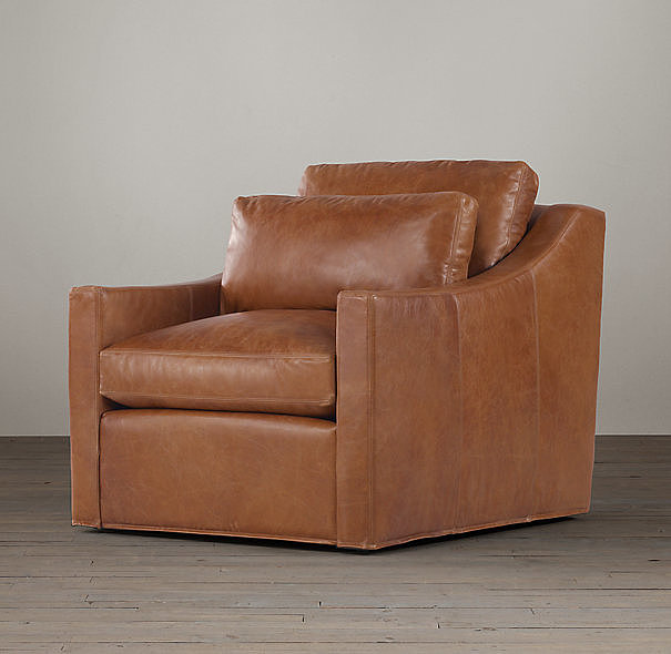 Comfy but far from dumpy, this Belgian Classic Slope Arm Leather Chair ($1,770-1,960, originally $2,085-$2,310) is the sort of seat you never want to get up from.