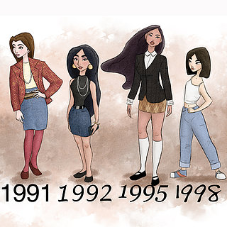 Disney Princess by Years
