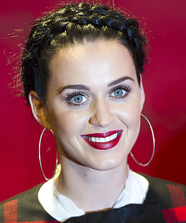 Katy Perry in Milkmaid Braids