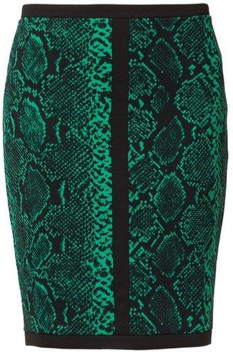 Juicy Couture Jupe crayon vert