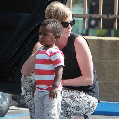 Charlize Theron With Jackson Theron in LA | Photos