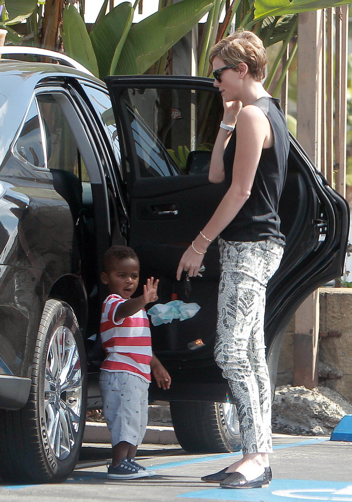Charlize Theron's Son Is Growing Up Right Before Our Eyes