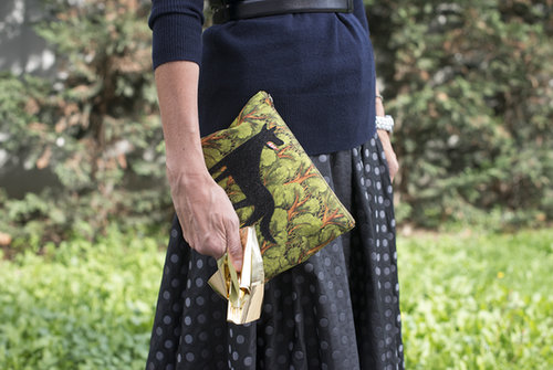 Who knew? The Big Bad Wolf makes a pretty sweet clutch.