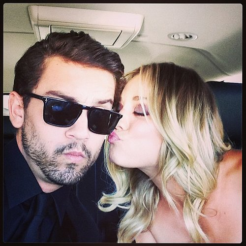 Kaley Cuoco and Ryan Sweeting Cute Instagram Pictures