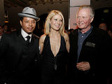 Gwyneth Paltrow was flanked by Terrence Howard and Jon Voight at the LA premiere of Iron Man in April 2008.