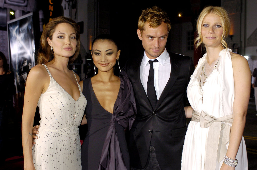 Gwyneth Paltrow attended the LA premiere of Sky Captain and the World of Tomorrow alongside Jude Law, Bai Ling, and Angelina Jolie in September 2004.
