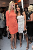 Gwyneth Paltrow posed with Kerry Washington at the Elle Women in Hollywood event in October 2010.
