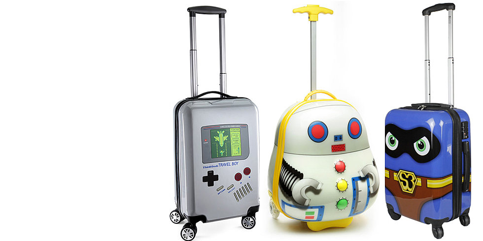 The Geeky Luggage of Your Dreams