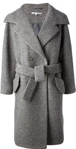 Carven boxy oversize trench coat
