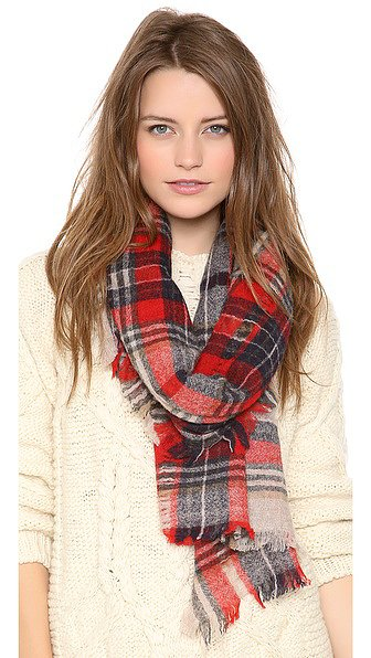 It's no secret that I love a scarf — especially a plaid scarf. And when they ring in at under $100, like this Madewell option ($58) does, I know it's just a matter of time before I pull out my credit card.  — RK