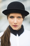 Is anyone else so excited that this girl has made A Clockwork Orange chic? Source: Le 21ème | Adam Katz Sinding