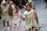 The Rick Owens Spring show may just be the most buzzed-about performance of fashion month.