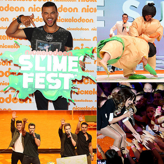 Slimed! See Reece & Rhiannon, Commando, Guy Sebastian and More at Slimefest
