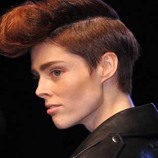 Jean Paul Gaultier Spring 2014 Hair and Makeup | Runway