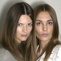 Makeup and Hair at Chloé 2014 Spring Paris Fashion Week