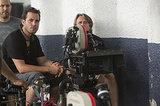 Director Brad Furman on the set of Runner Runner.