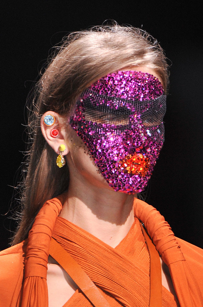Givenchy Does Tribal Beauty With Sparkling Masks
