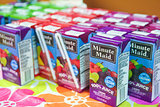 Decorated Fruit Juice Boxes