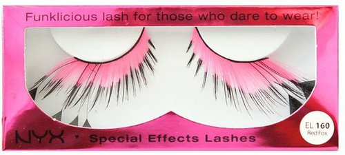 Nyx Cosmetics Special Effects Lashes-Red Fox