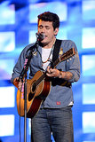 John Mayer performed at the festival.