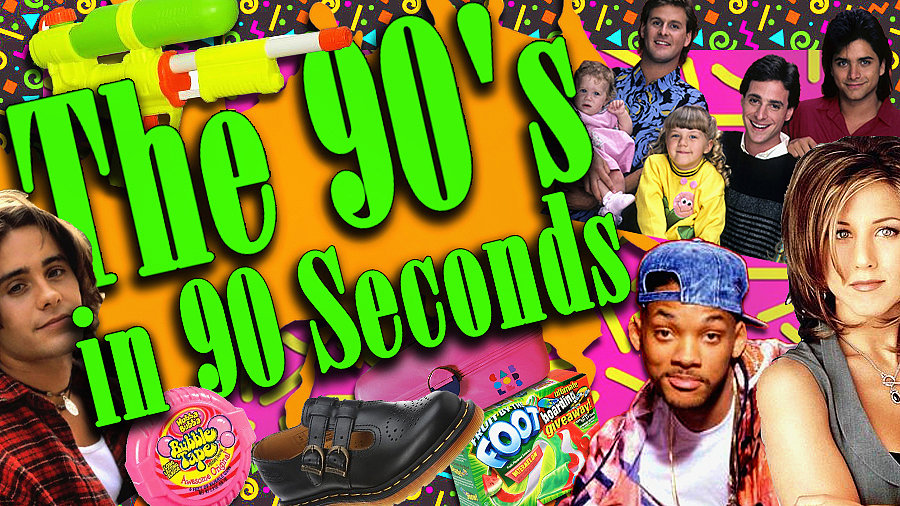 The '90s in 90 Seconds!