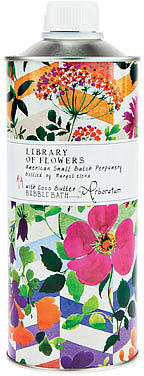 Library of Flowers Arboretum Bubble Bath with Coco Butter