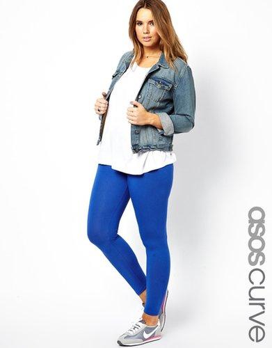 ASOS CURVE Exclusive Legging In Cobalt