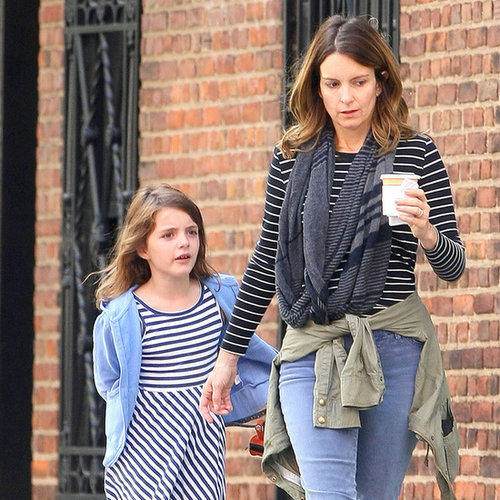 Tina Fey and Daughter Alice in NYC | Photos