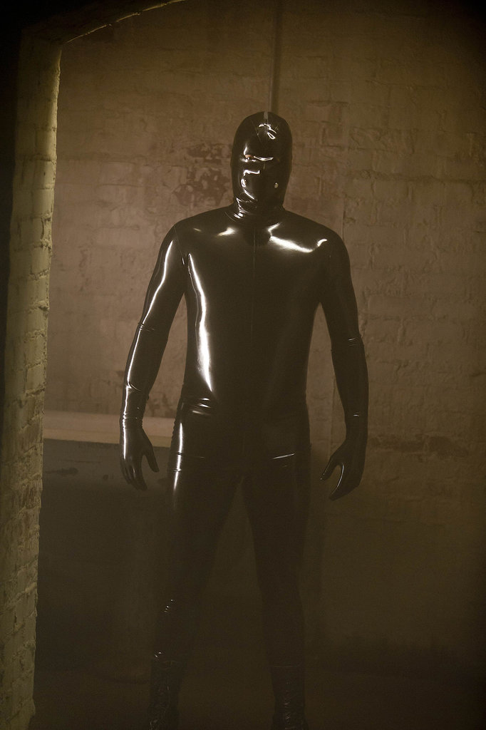 Rubber Man  What to wear: Self-explanatory. How to act: Don't speak all night, and creep up on people.