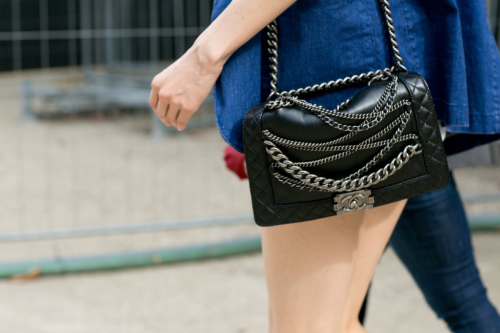 What's cooler than a chain-covered Chanel?
