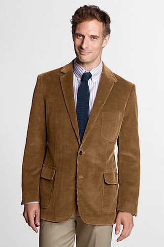 Men's Regular Traditional Fit 10-wale Corduroy Sportcoat