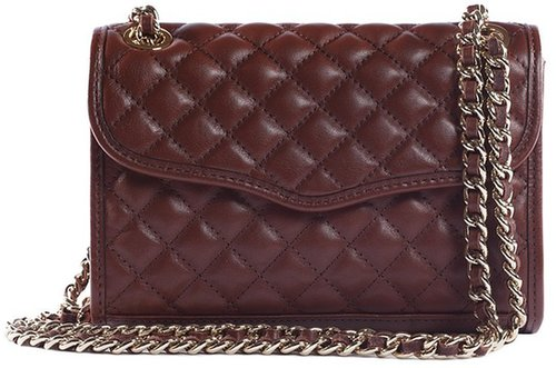 Mini Quilted Affair in Mahogany