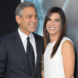 Sandra Bullock and George Clooney at Gravity Premiere in NYC