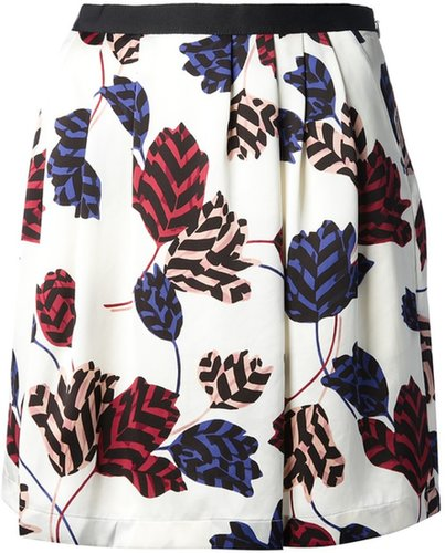 Marc By Marc Jacobs printed a-line skirt