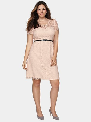 So Fabulous Lace Skater Dress
