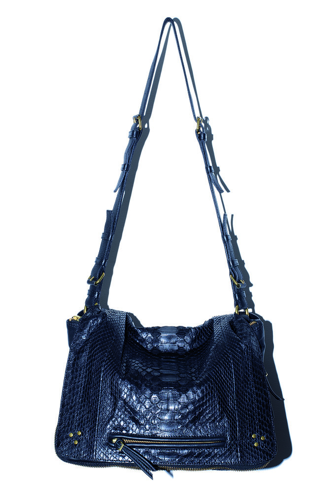 The Albert Bag in black python Photo courtesy of Jerome Dreyfuss