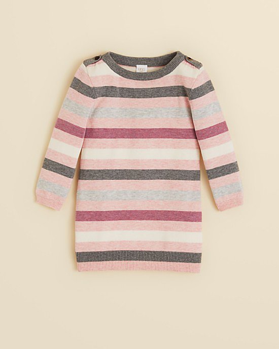Egg by Susan Lazar Striped Sweater Dress