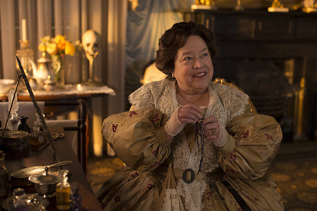 Kathy Bates as Madame LaLaurie in American Horror Story: Coven.