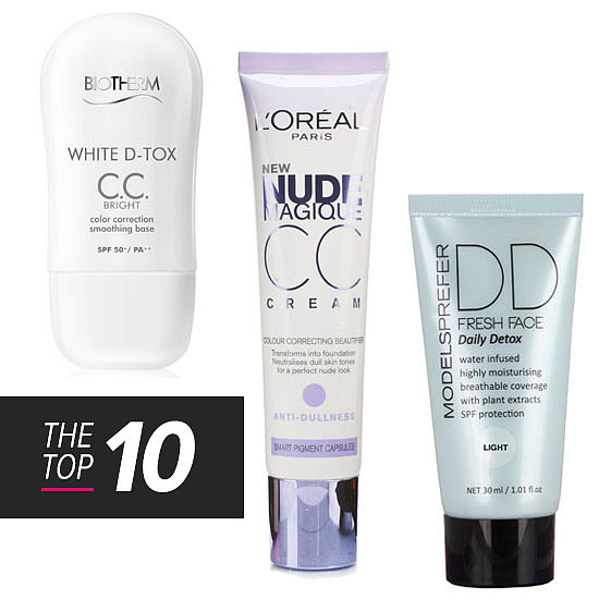 10 New Alphabet Creams: BB, CC, DD