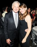 Jennifer Garner posed for pictures with Victor Garber.
