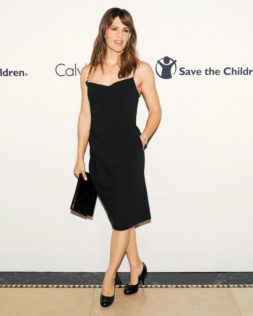Jennifer Garner made an appearance at NYC's Save the Children event.