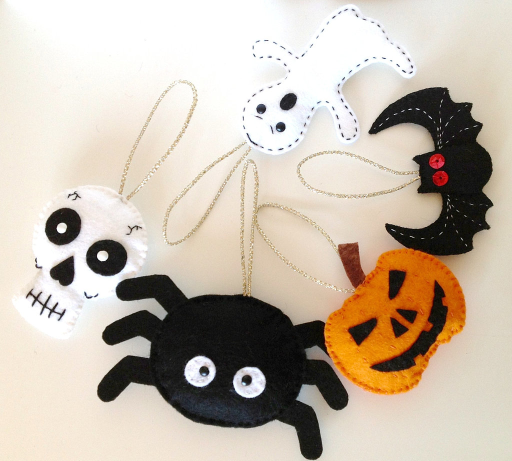 Felt Halloween Elements