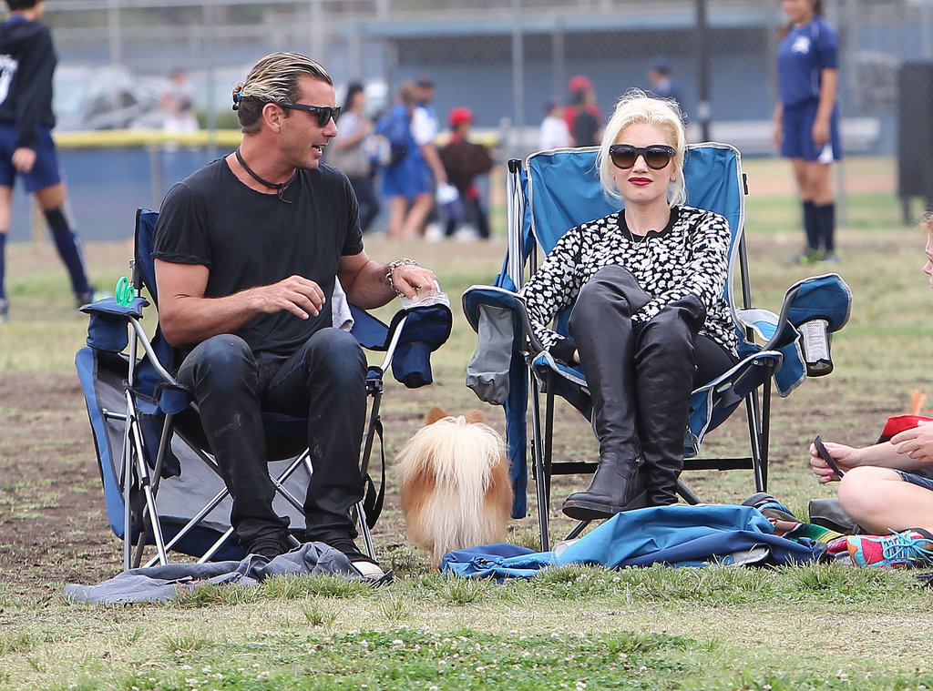 In September 2013, Gavin Rossdale and Gwen Stefani went on soccer parents duty to watch their sons play a game in LA.