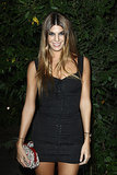 At the afterparty for the Mademoiselle C screening, Bianca Brandolini worked her gams in a mini.