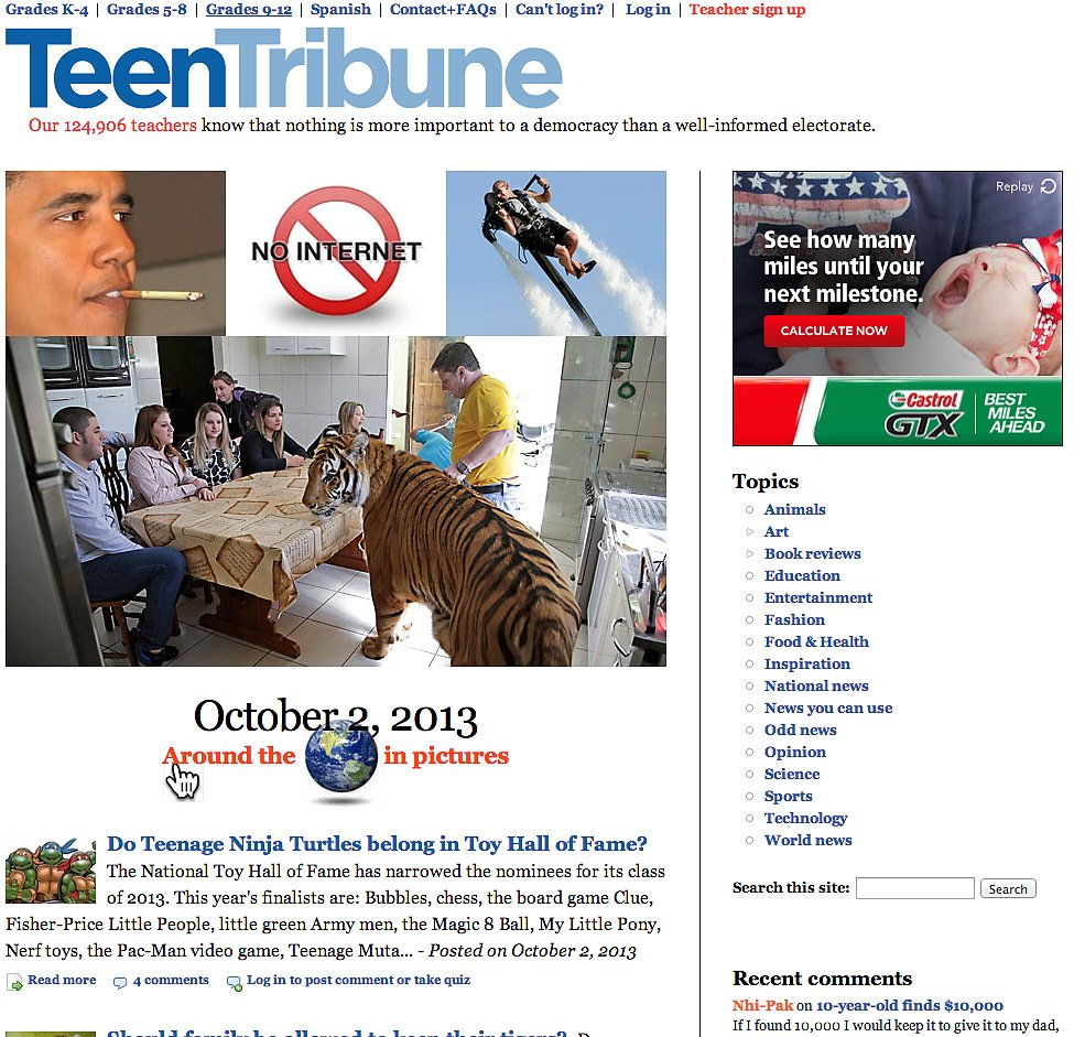 Teen Tribune